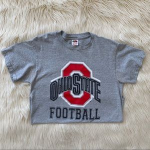 OSU Ohio State Football T-Shirt, Men's Medium